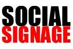 social-signage